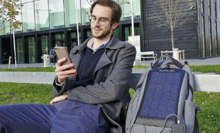 mochilas solares