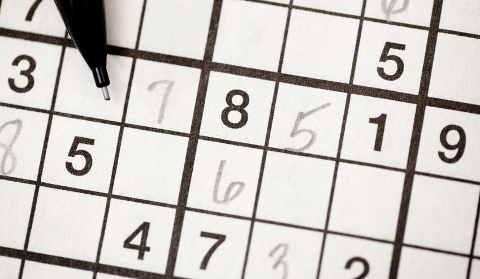 Sudoku pensamiento lógico