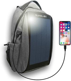 sunslice mochilas solares