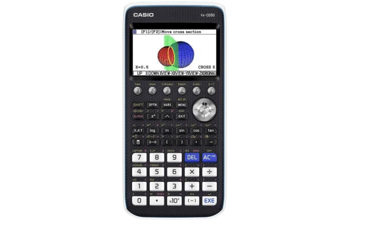 Casio calculadora gráfica