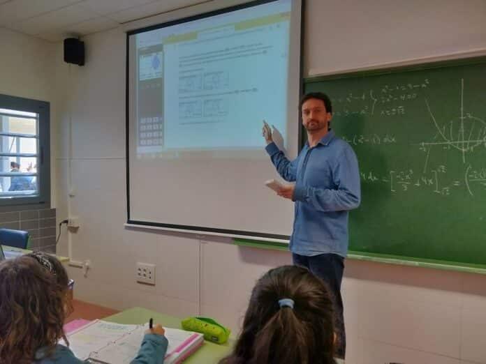 Calculadora gráfica en clase