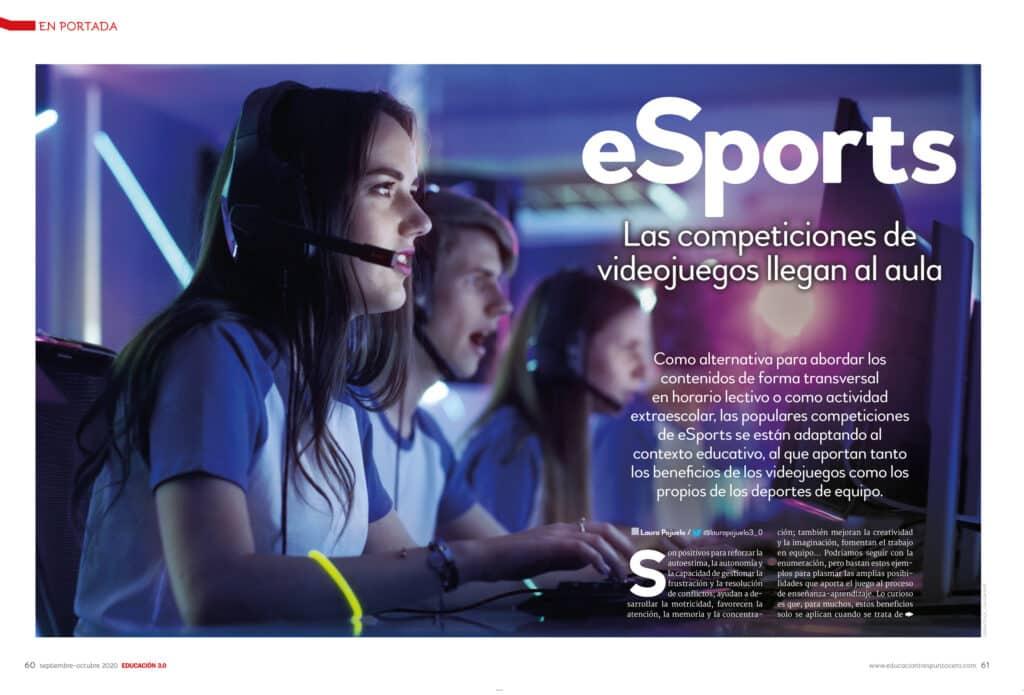 EN PORTADA 39 de la revista EDUCACIÓN