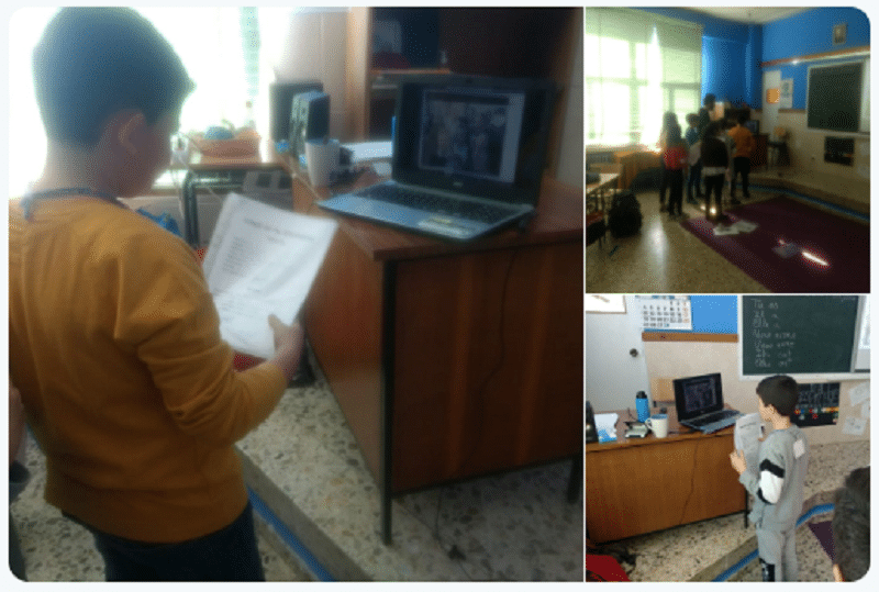 Comunicación con niños de otros centros