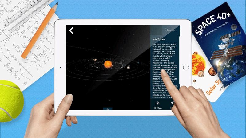 Space 4D aplicaciones gratuitas de RV