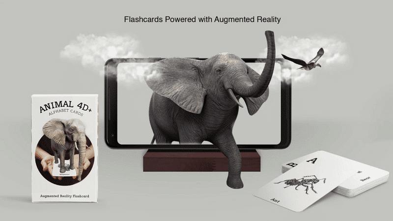 Animal 4D+ aplicaciones gratuitas de RV