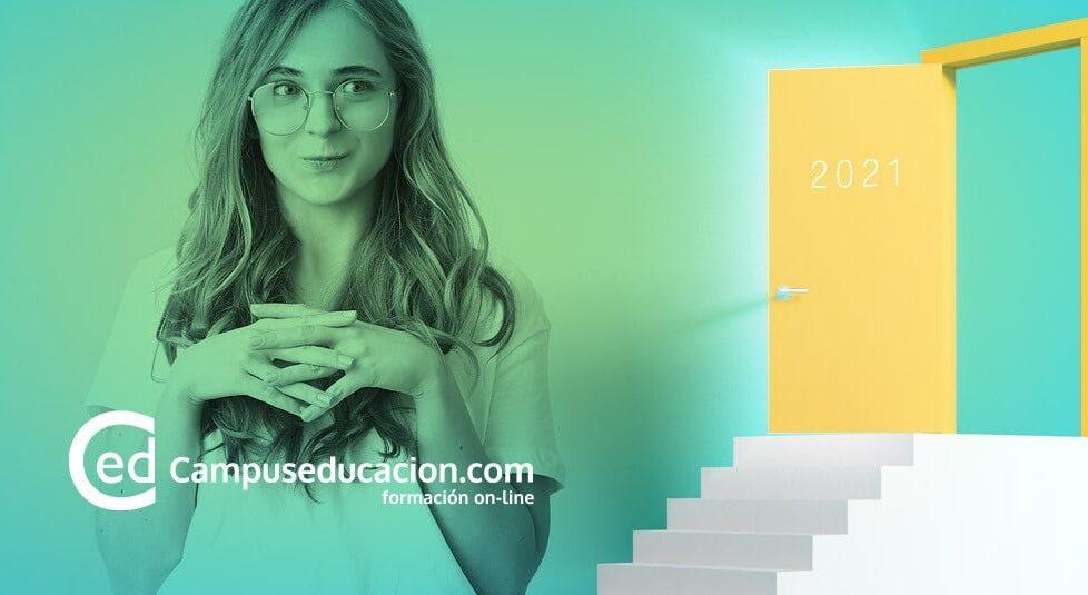 Oposiciones para docentes 2021- cursos homoogados de Campuseducacion