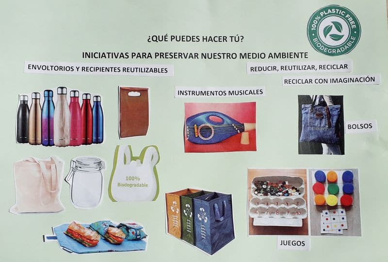 Iniciativas para reducir la huella medioambiental
