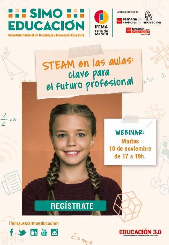 STEAM en las aulas: clave para el futuro profesional' SIMO EDUCACIÓN