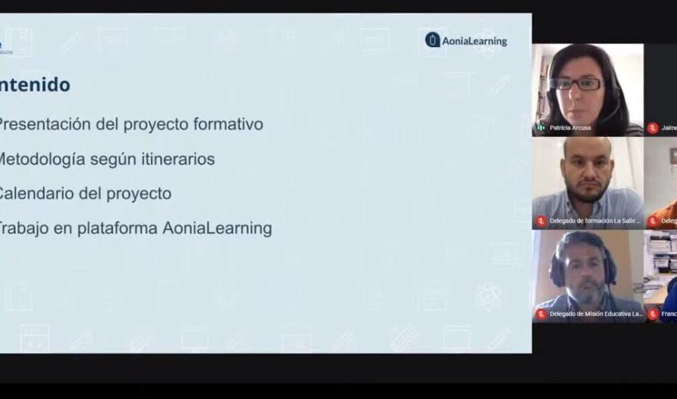Competencias digitales docentes: Aonia Educación y La Salle Andalucía