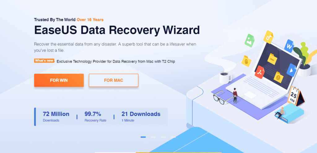 EaseUS Free Data Recovery