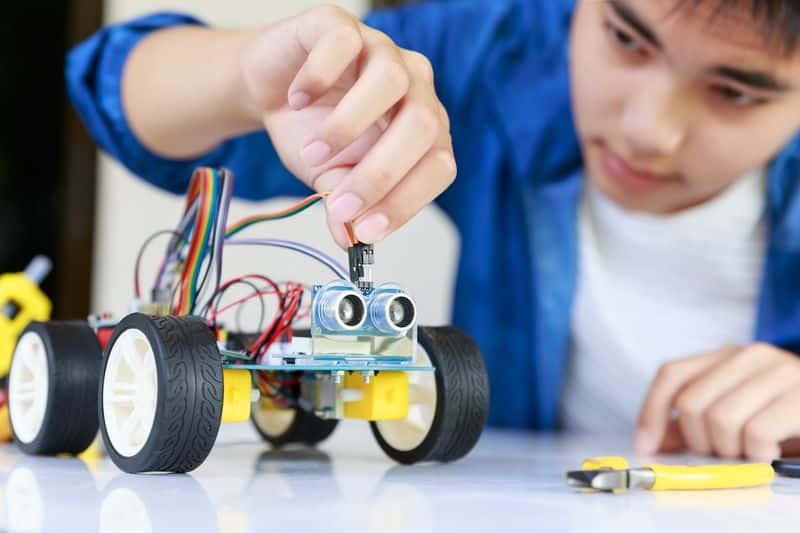espacio maker robótica