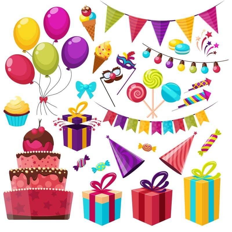 fiesta de cumpleaños huella medioambiental