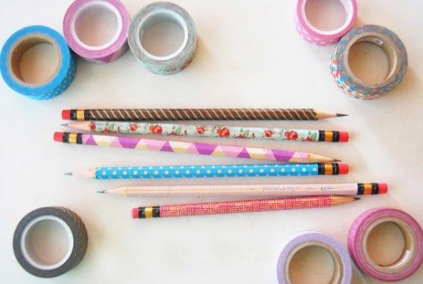 Lápices con un toque de color