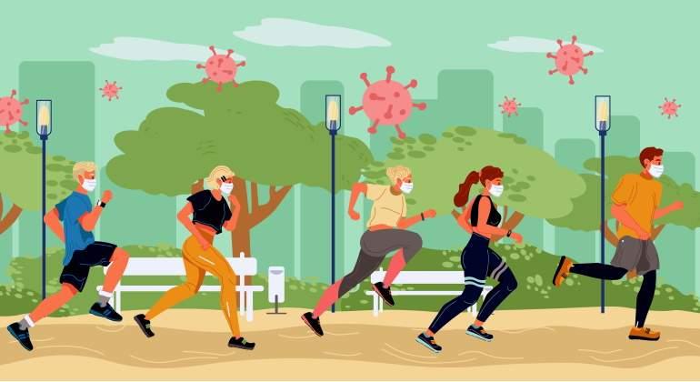 Juegos Sin Contacto Para Practicar Educación Física