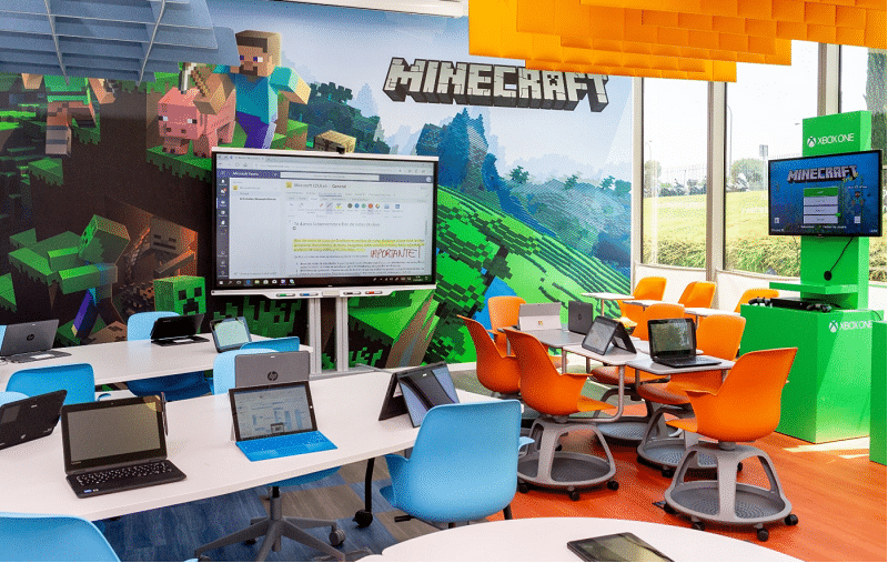 microsoft minecraft para docentes