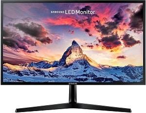Samsung monitor S27F358 LED con filtro de luz azul para descansar la vista