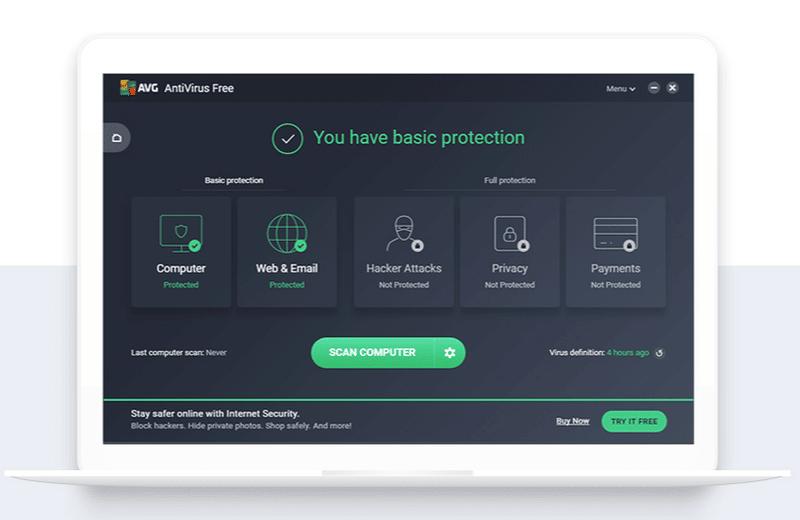 AVG antivirus gratuitos
