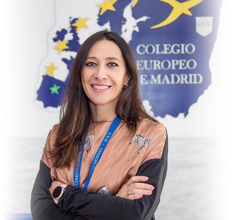 Esmeralda Velasco - Profesora del Colegio Europeo de Madrid.