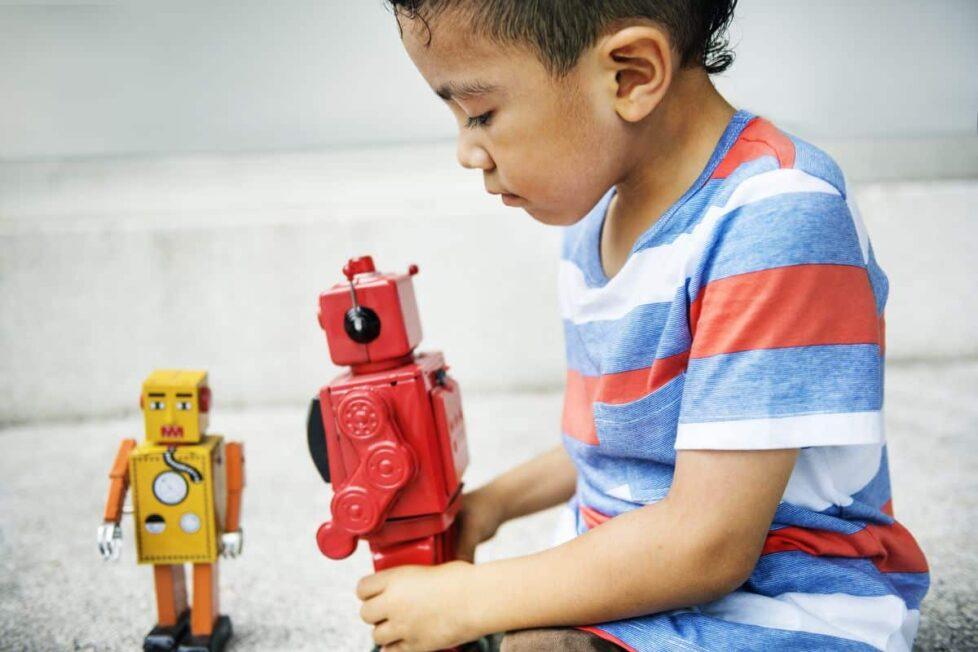 Robótica social estudiantes TEA