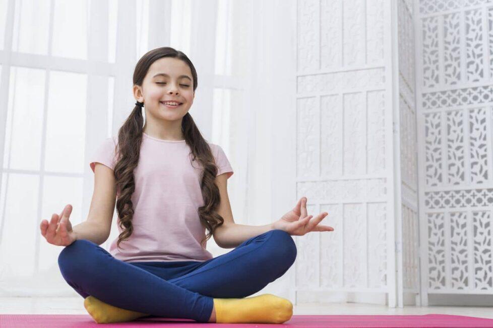 ejercicios meditación niños