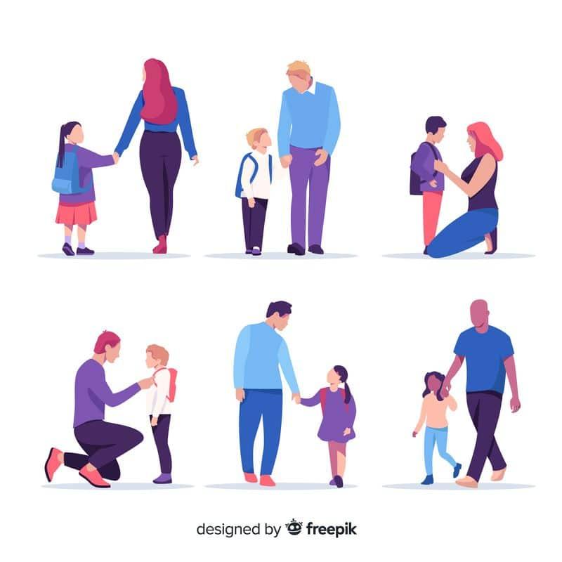 Familias y aulas