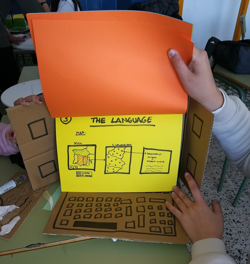 Productos creados por los alumnos - design thinking