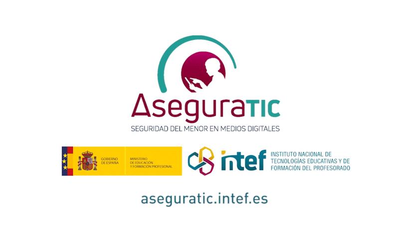 AseguraTIC seguridad del menor en medios digitales protección de datos