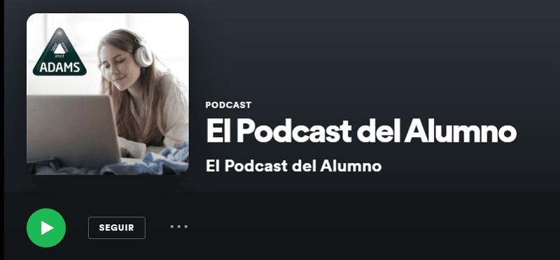 Podcast del alumno