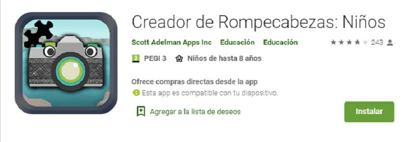 CREADOR DE REOMPECABEZAS