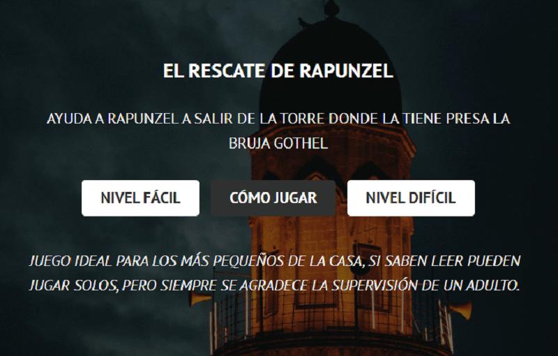 El rescate de Rapunzel