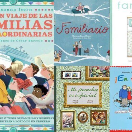 Libros sobre diversidad familiar para niños