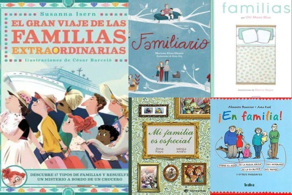 libros sobre diversidad familiar niños