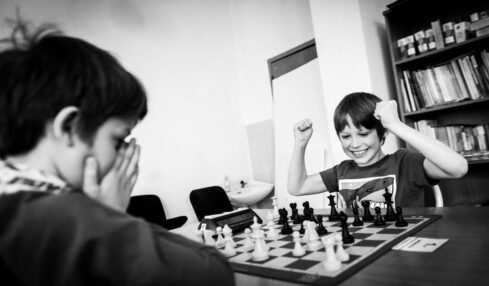 ajedrez para niños