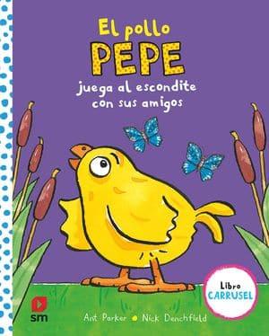El pollo Pepe juega al escondite con sus amigos