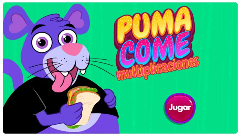 Puma come matemáticas