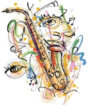 Pintar música