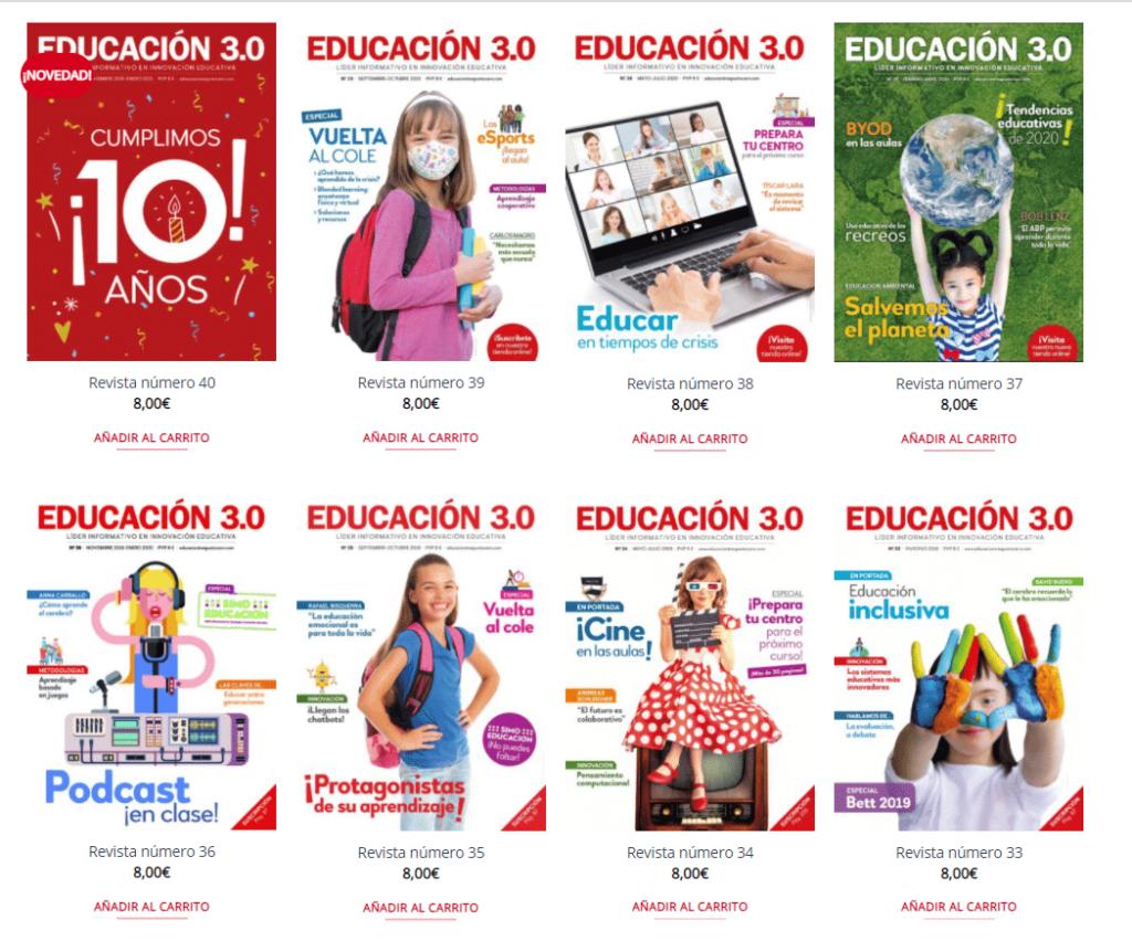 tienda EDUCACIÓN 3.0