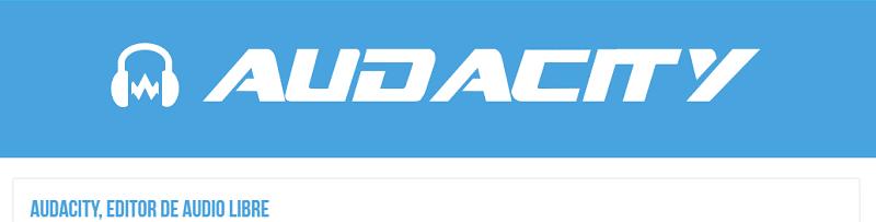 Audacity Programas para crear podcast