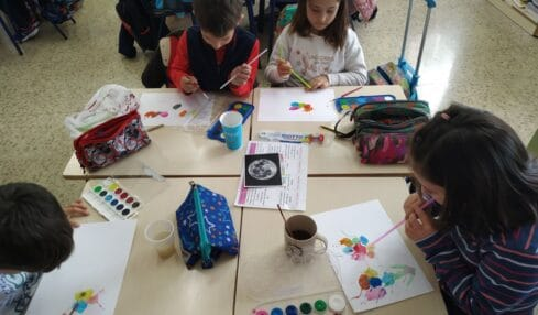 Arts and crafts educación plástica en inglés
