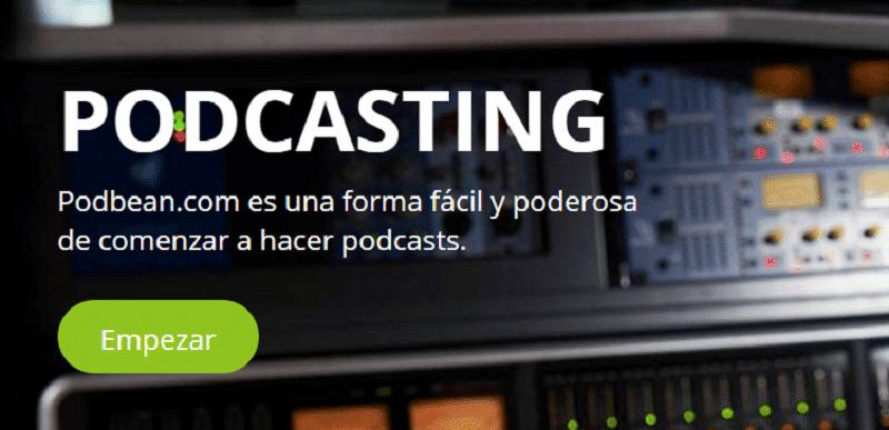 PodBean Programas para crear podcast