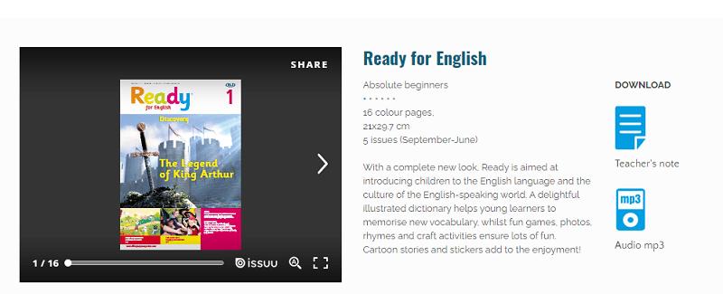 Ready For English Revistas para aprender inglés