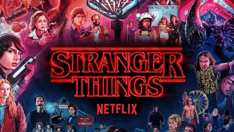 Stranger Things series para aprender inglés
