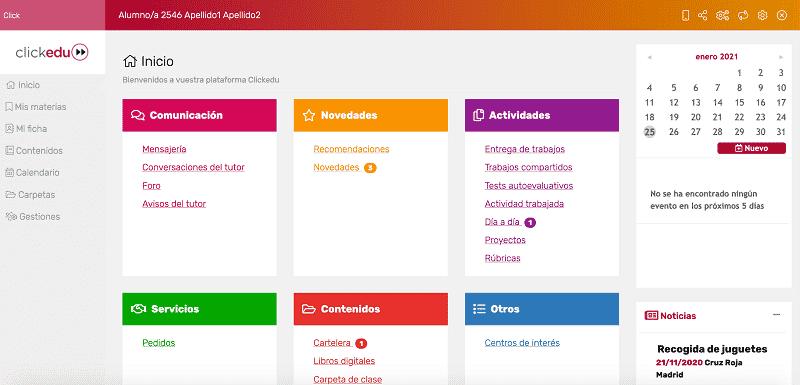 Clickedu Una plataforma de gestión integral