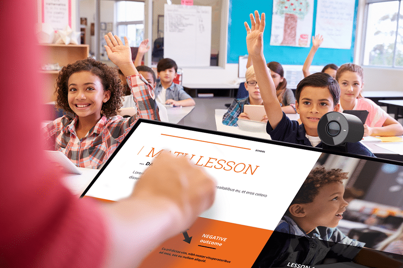 beneficios de las pantallas interactivas en el aula