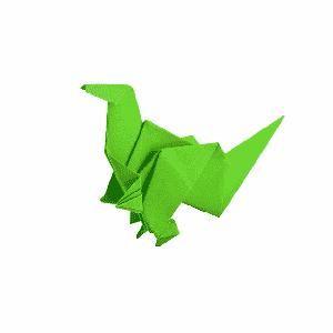 aprende origami con tiktok
