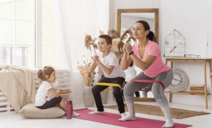 Haz ejercicio desde casa