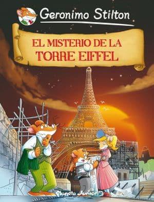 Geronimo Stilton 12. El misterio de la Torre Eiffel sagas juveniles misterio