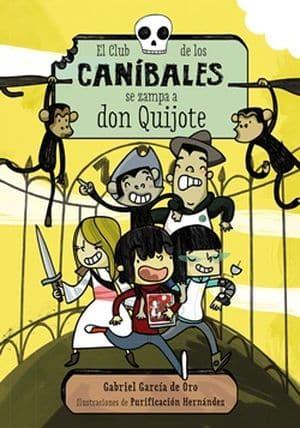 El club de los caníbales se zampa a don Quijote sagas juveniles misterio