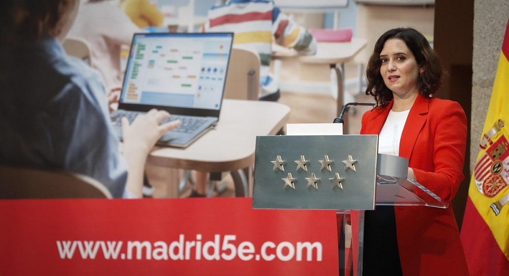 Isabel Díaz Ayuso- Proyecto Madrid 5e