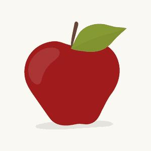 En forma de manzano